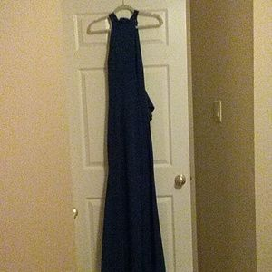 Blue Windsor Gown